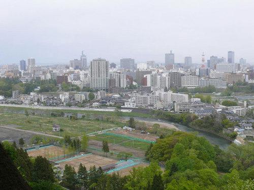 天守台からの眺め20130512.jpg